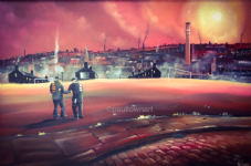 Times a Great Healer - Bradford City and Lincoln City 20'' x 30'' Box Canvas